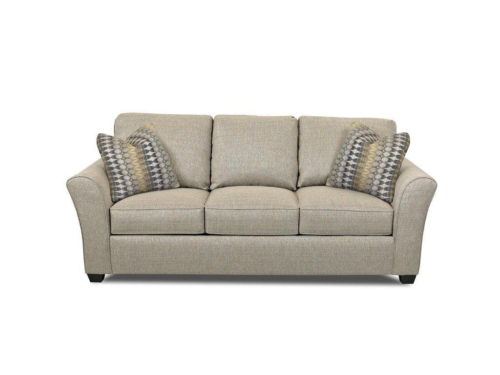 Simple Elegance Queen Sleeper Sofa with Memory Foam Mattress 473805 - Talsma Furniture - Hudsonville, Holland, Byron Center, Grand Rapids / Cascade MI