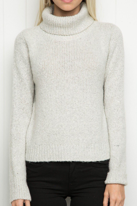 Brandy ♥ Melville | Cassia Turtleneck Sweater - Turtlenecks ...
