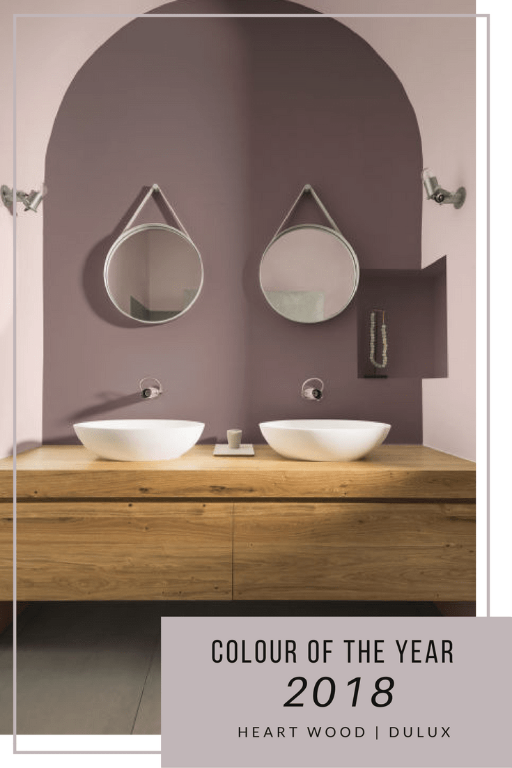 How To Decorate With Dulux Colour Of The Year 2018 Heart