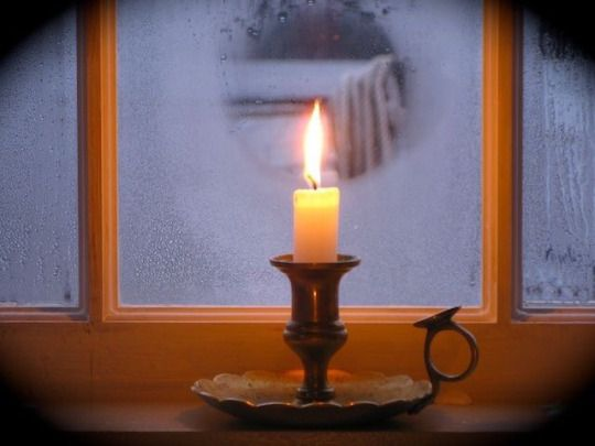 Sldfarmhsuѕye For Now I Am Winter Window Candles Candles Candle Lanterns