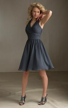 short grey dresses - Google Search | bridesmaid dresses ...