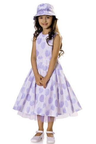 Kleid und Hut SChnittmuster | Nähen Kids Kleider | Pinterest | Hüte ...