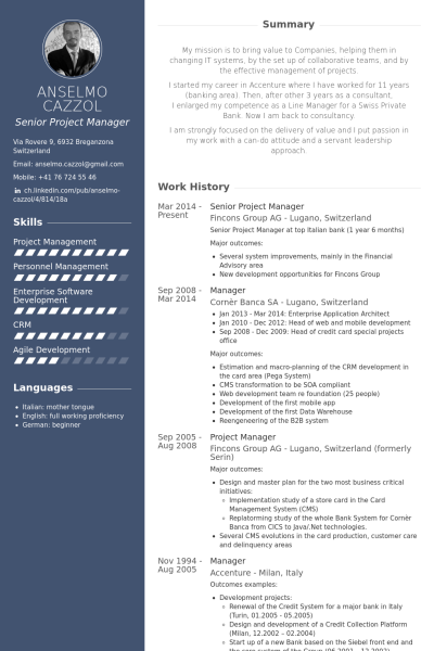 Free Resume Templates Senior Project Manager Freeresumetemplates Manager Project Resume Project Manager Resume Executive Resume Template Manager Resume