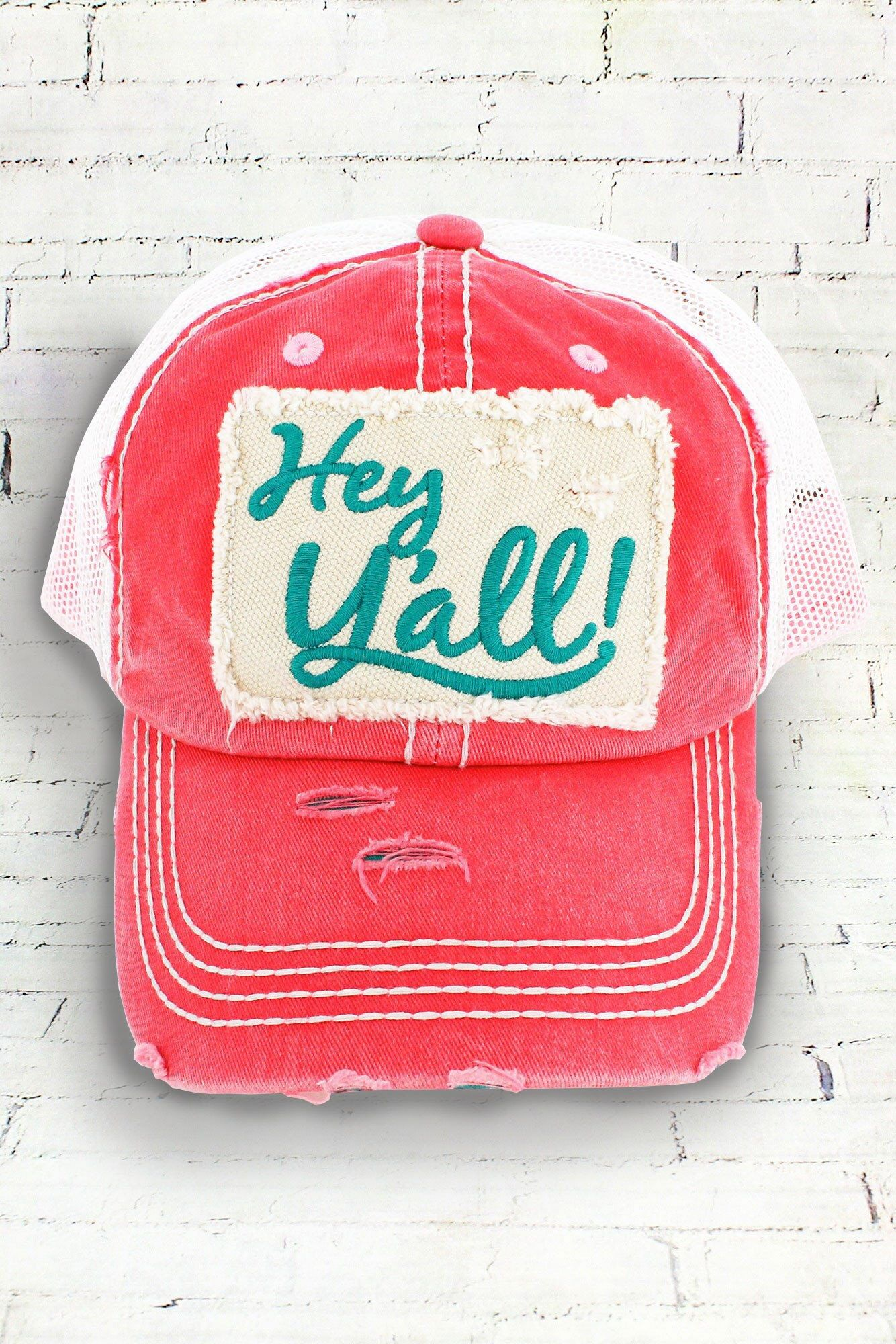 Hey Y all Baseball Hat ~ Hey Y all Trucker Hat ~ Women s Baseball Hat ~ Y  all saying hat ~ Y all by SimplyStephsMonogram on Etsy 0797ba6c82