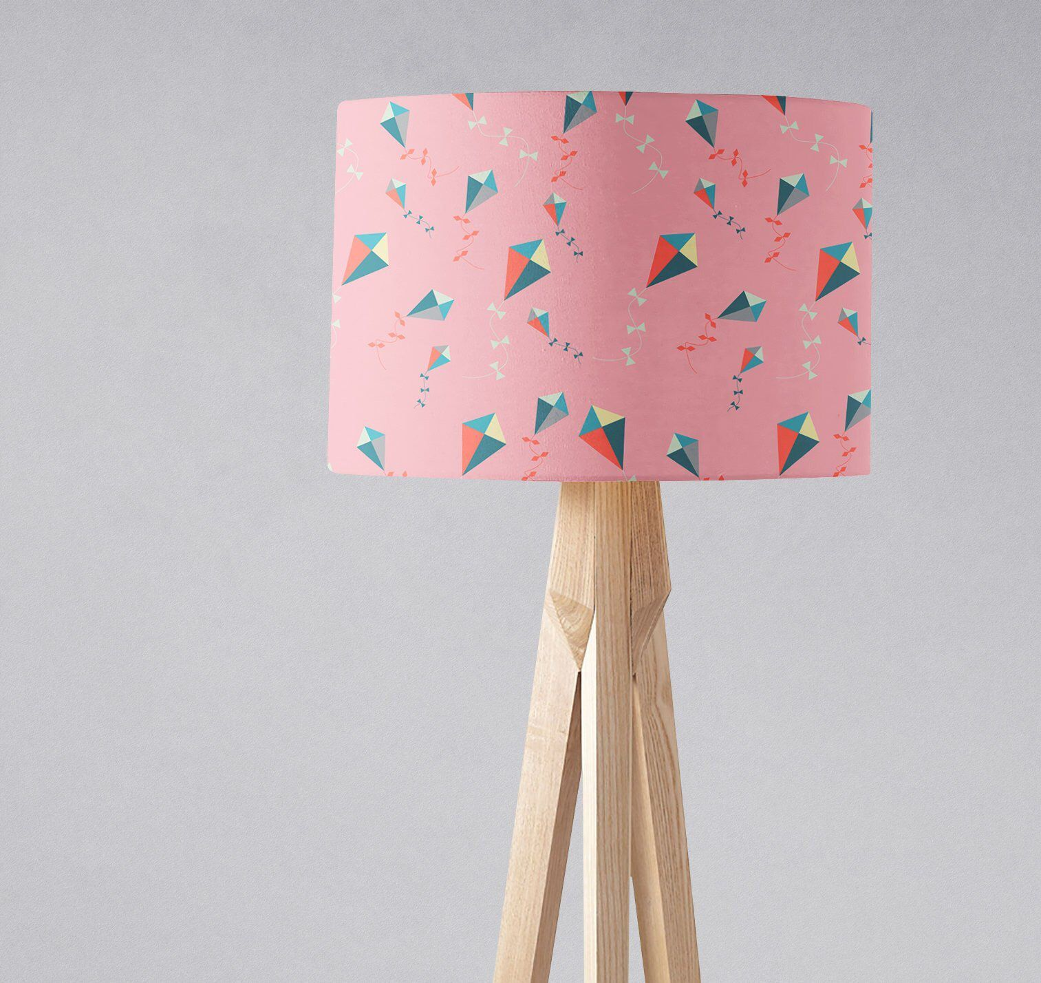 Kite Nursery Lampshade Pink S Lamp Decor Bedroom