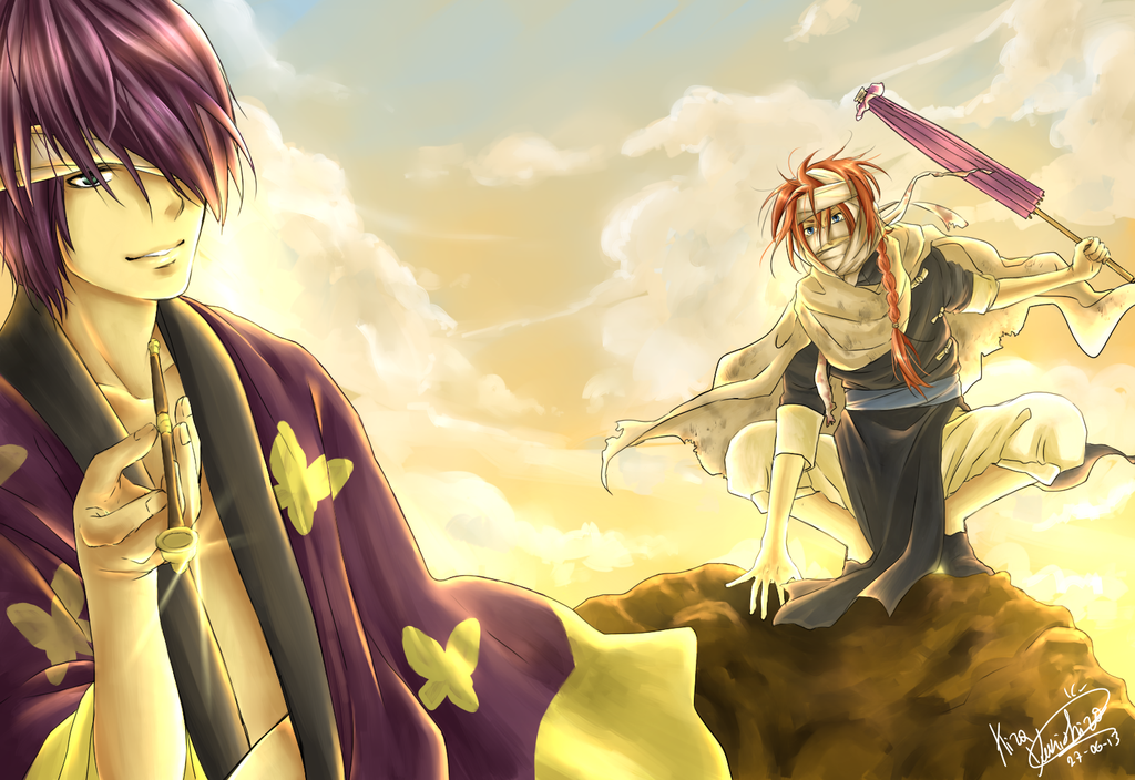 Gintama Takasugi And Kamui