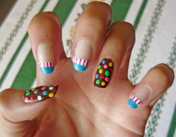 Candycrush nail, wow they are amazing!