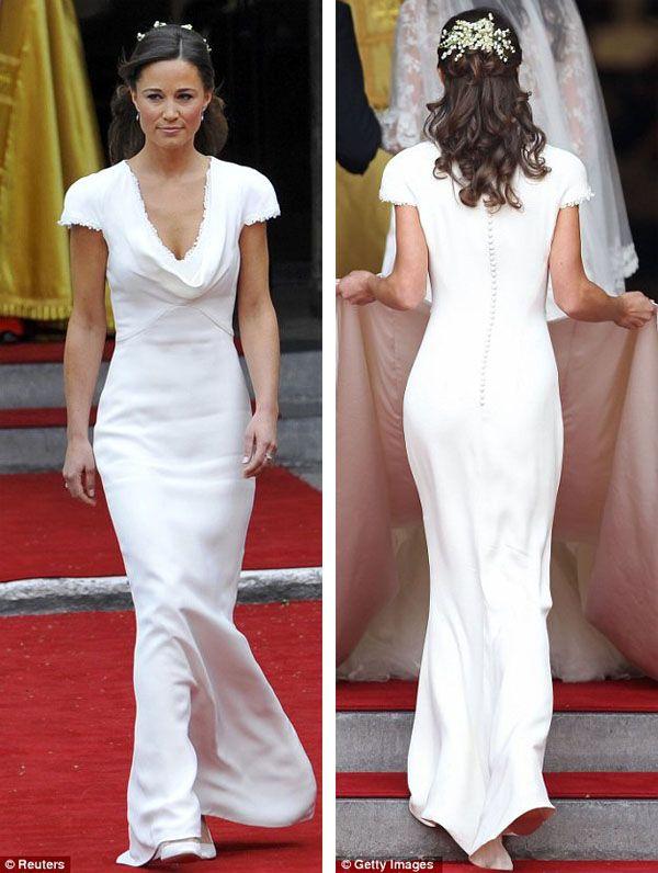 Pippy Midleton In Royal Wedding Pippa Middleton Wows White Bridesmaid Dress Photos Reuters Getty