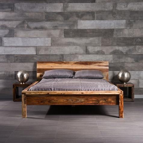 Lit Bella en bois de rose | Chambre a coucher | Pinterest | Bois ...
