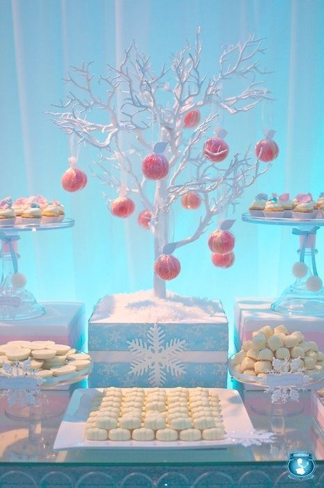 Winter Wonderland Birthday Party Baby Shower I Like How The Boxes Are Wrap Winter Girl Baby Shower Winter Wonderland Baby Shower Winter Baby Shower Themes