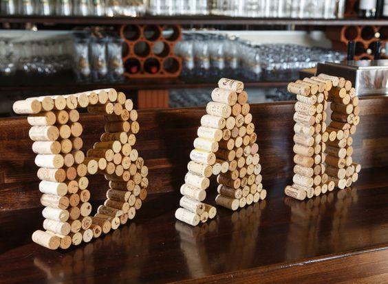 DIY Barschild aus Weinkorken ⋆ elfenweiss