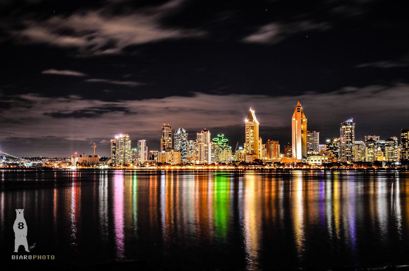 San Diego Skyline City Landscapes Travel Photography Etsy City Landscape Landscape Photography Cityscape