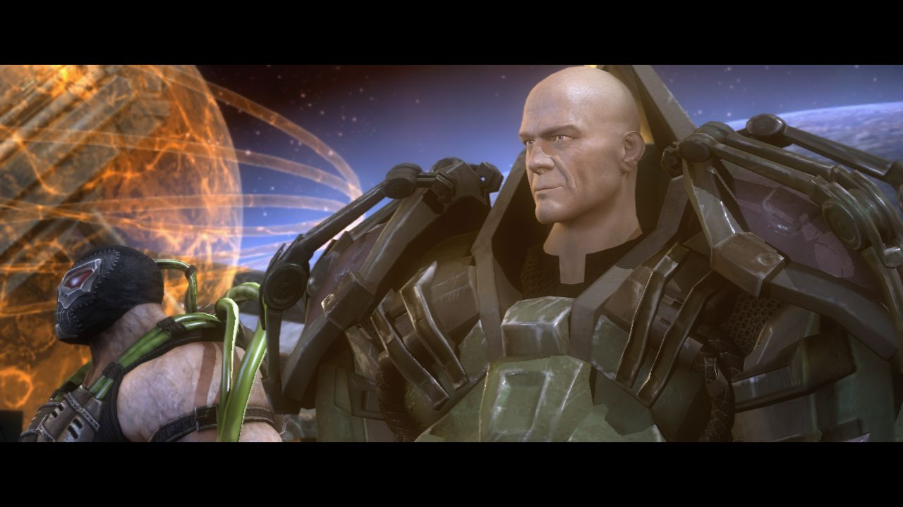Lex Luthor Bane Lex Luthor Injustice God