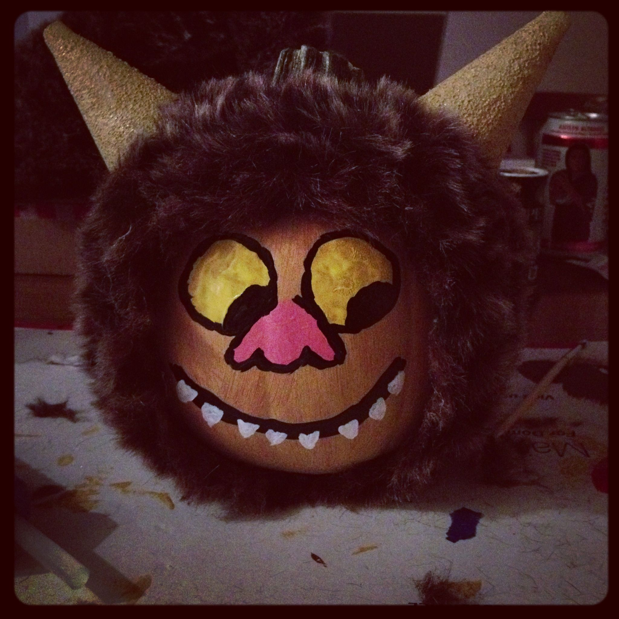 Where the Wild Things Are pumpkin! | Crafts :) | Pinterest | Wild ...