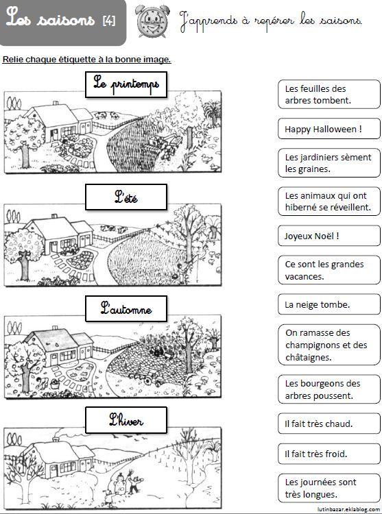 Ddm Ce1 Dossier Sur Les Saisons En 2021 Les Saisons Ce1 Programme Ce1 Ce1