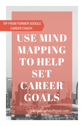 tip from former google career coach  use mind mapping to