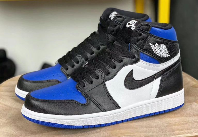 Air Jordan 1 High Og Black Game Royal Debuting In May Air