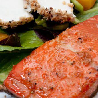 Bourbon Glazed Salmon Recipe | Yummly