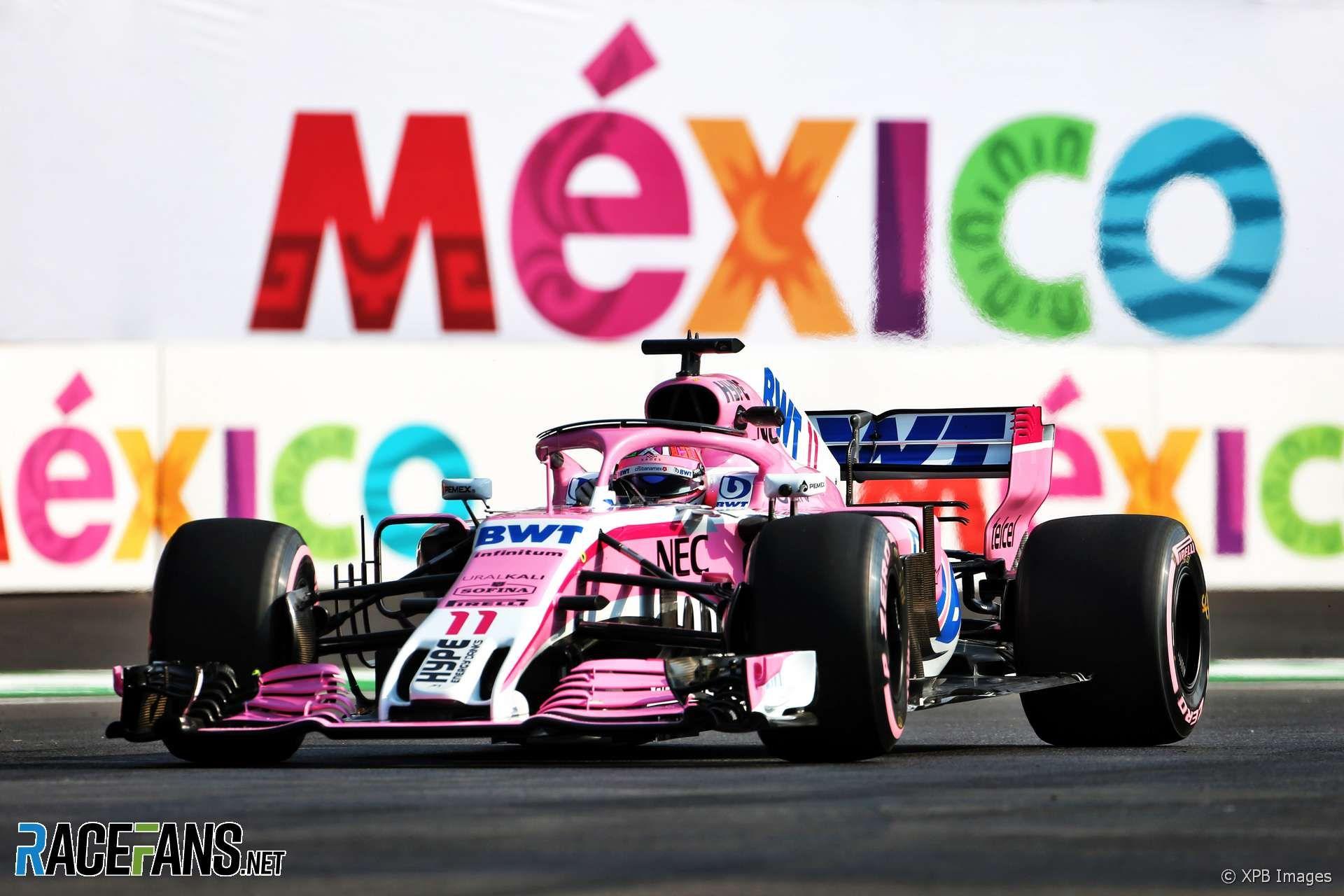 Sergio Perez, Force India, Autodromo Hermanos Rodriguez