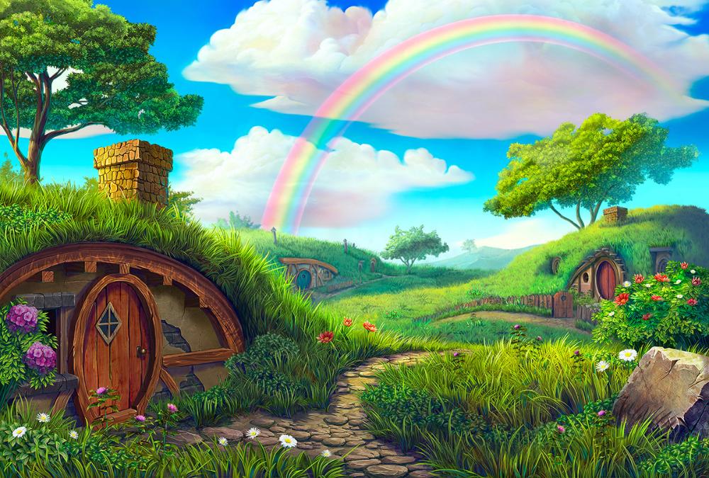 ArtStation Daylight background, Slotopaint GameDesign in