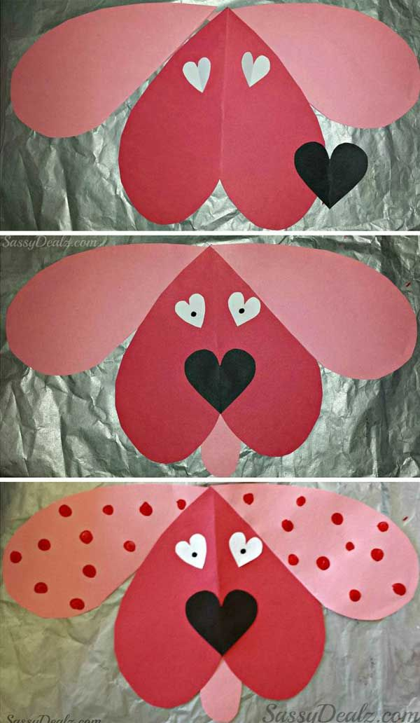 30 Fun and Easy DIY Valentines Day Crafts Kids Can Make   Ideas ...