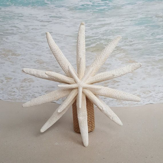 Hey, I found this really awesome Etsy listing at https://www.etsy.com/listing/208753758/salestarfish-tree-topper-natural-gold-or