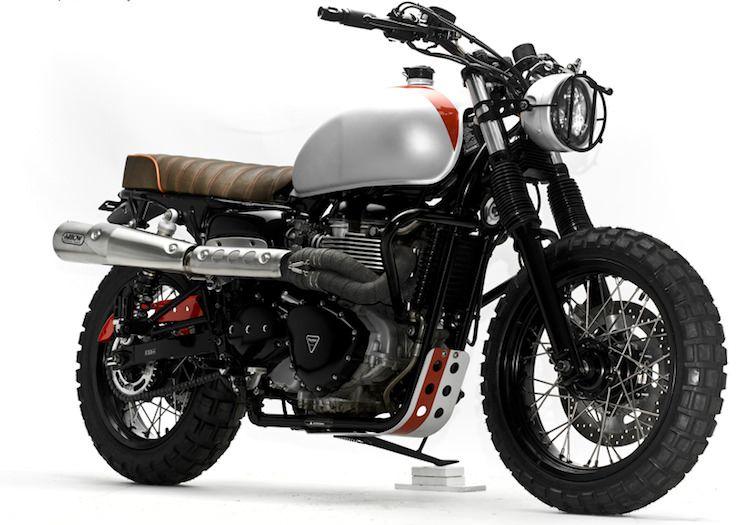 Steel Bent Customs » Triumph Bonneville T100 Scrambler | Bikers Cafe|Bikers Cafe