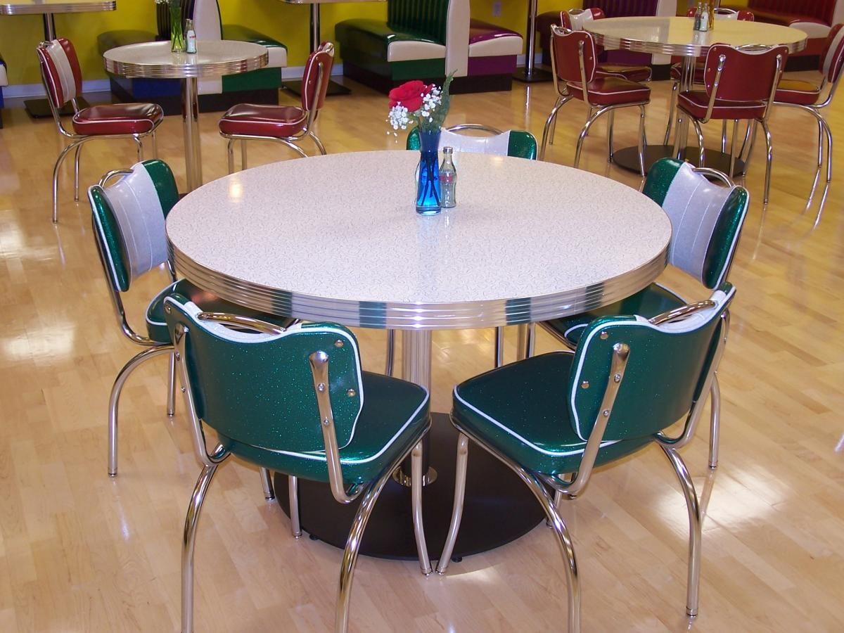american attractive vintage style 1950 kitchen table love this table  1950 u0027s style american diner table and chair sets  12  jpg   diy      rh   pinterest com