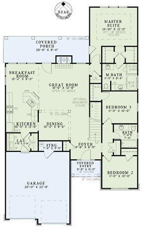 Houseplansplus Com Narrow Lot House Plans Garage House Plans Narrow House Plans
