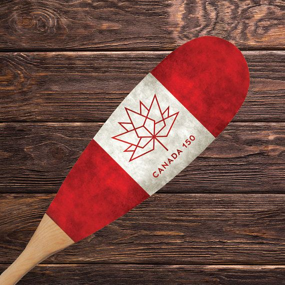 48 Canada 150 Anniversary Paddle Canada Day Canadian Decor