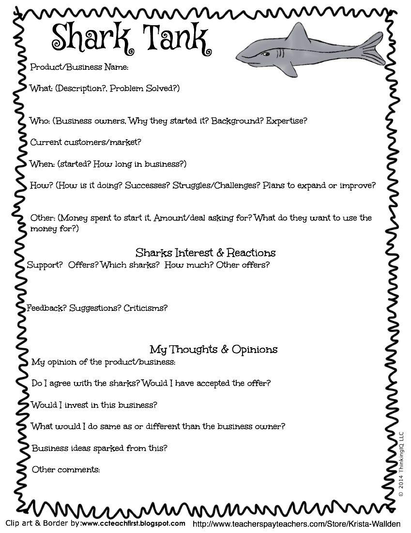 Shark Tank Assignment