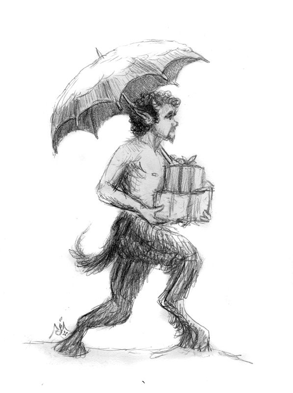 Christmas Parcels by Jef Murray | Mr. Tumnus ~ Narnia | Dibujos ...