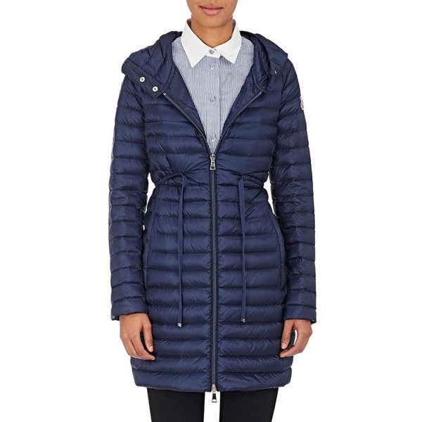 ... moncler womens barbel hooded puffer coat 995 liked on polyvore featuring outerwear