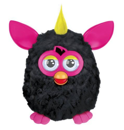 Furby mohicano negro – Mascota electrónica (habla español) (Hasbro A3122500) | Your #1 Source for Toys and Games