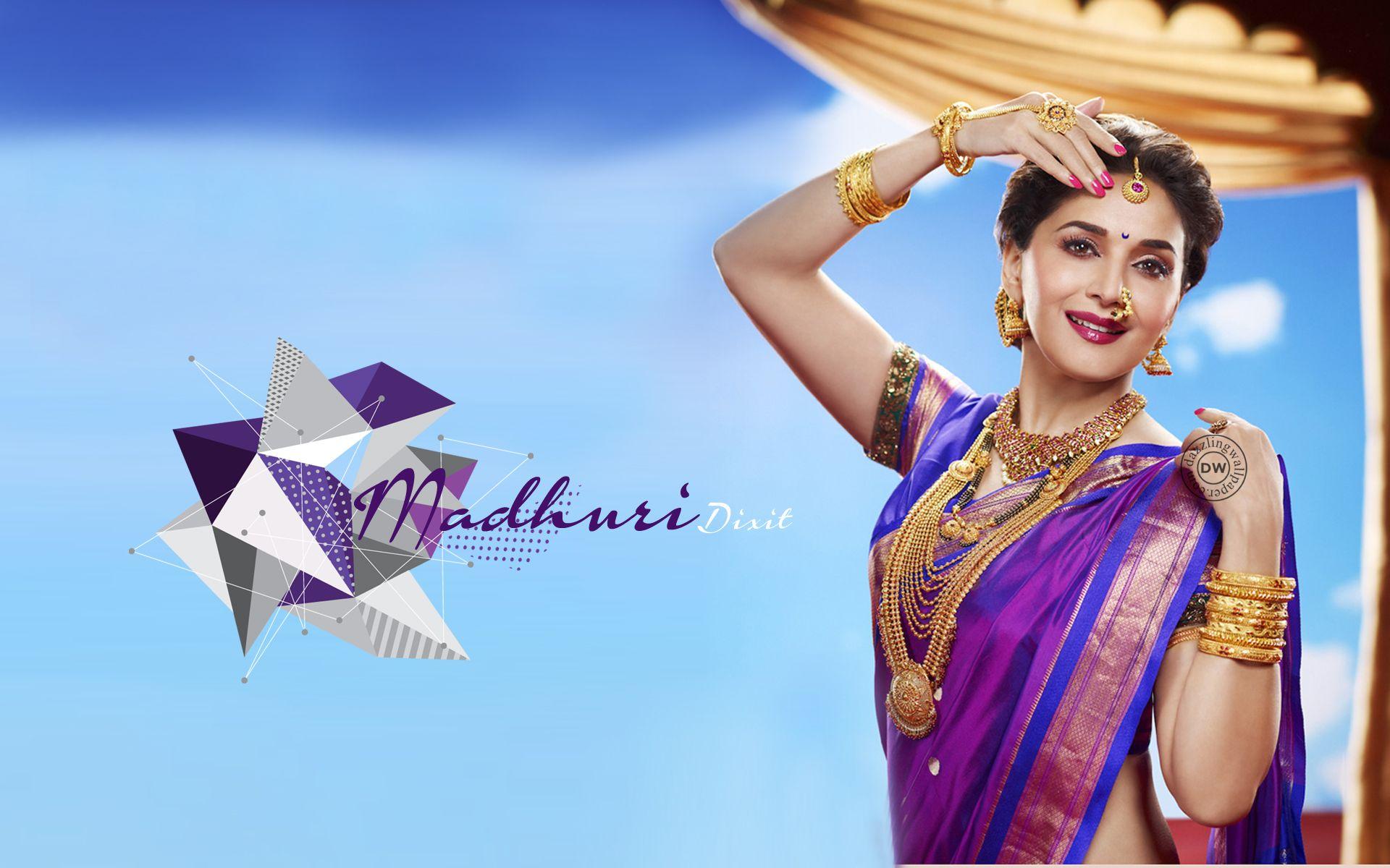 Wallpaper download madhuri dixit - Madhuri Dixit Hd Wallpaper Madhuri Dixit Bollywood Actress Indian Film Actress Beautiful