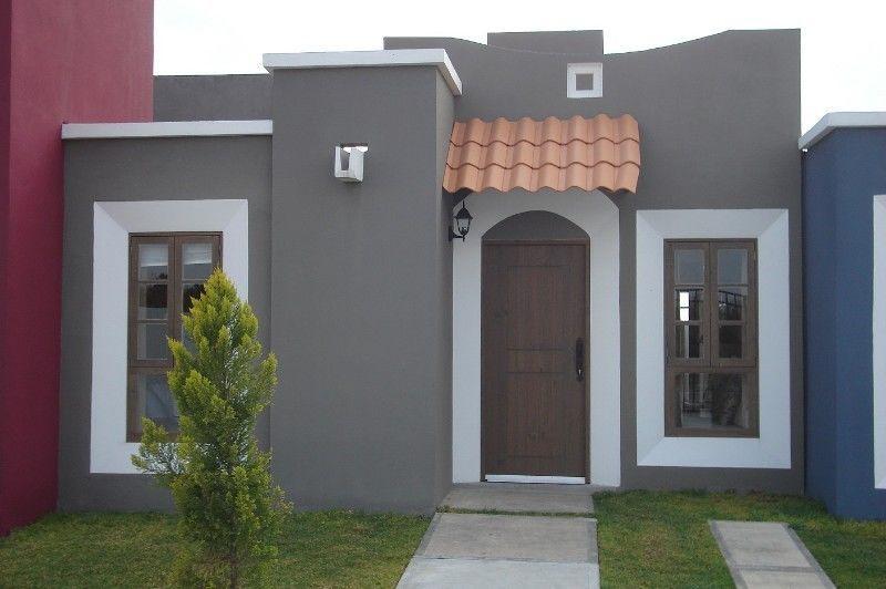 Casa estilo ingles 2recamaras en privada bienvenidos for Fachadas modernas para casas de infonavit