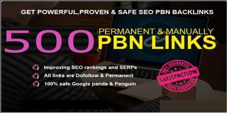 Total 500 Premium Website Home Page WEB 2.0 PBN Post DA 40+ exclusive Back-links with Unique Domain for $50 - SEOClerks