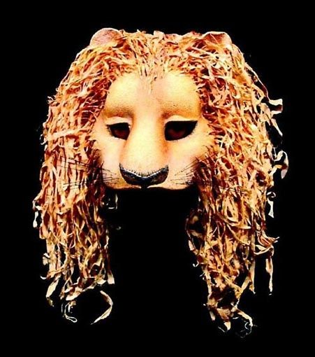 diy leather lion mask | visit theartgallery com au | arts in 2019