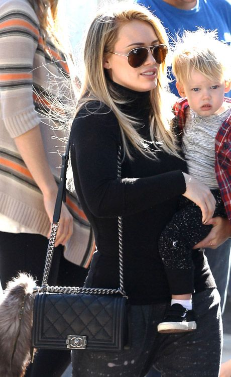 fe6e792e0a60 Classic Flap Bag hilary duff le boy bag https   www.youtube.