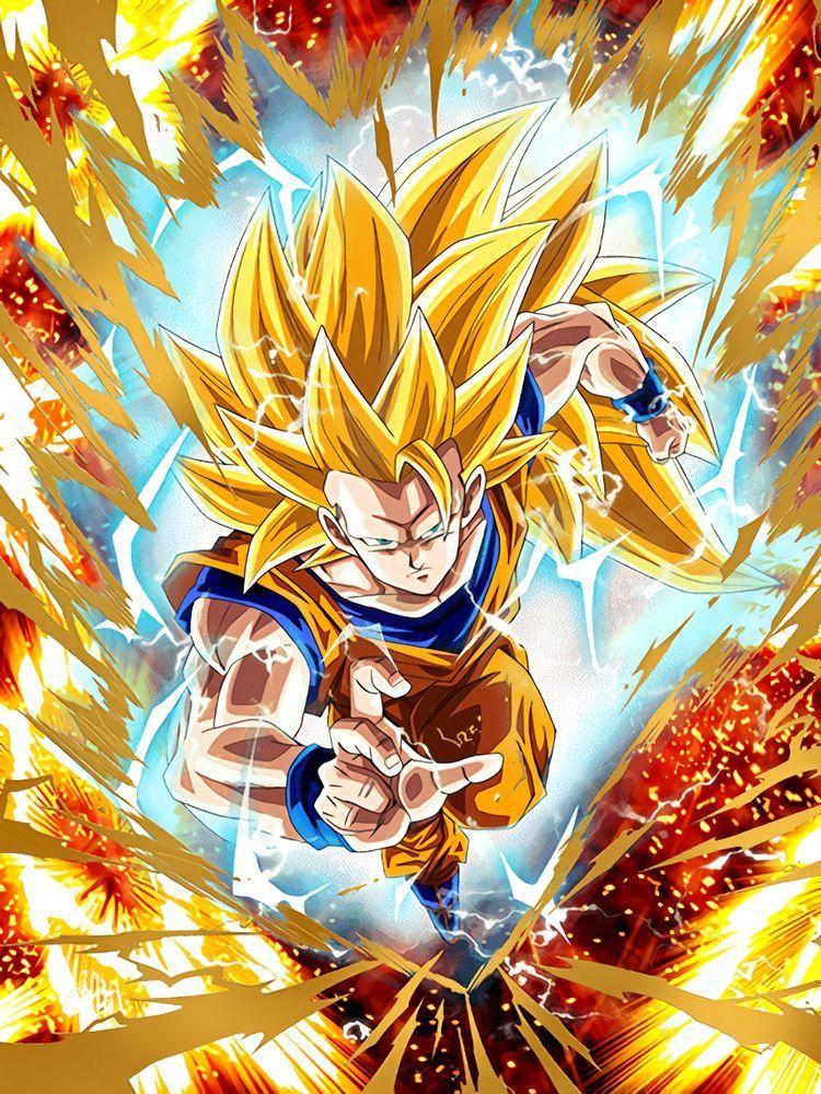 Super Saiyan 3 Goku Anime Dragon Ball Super Dragon Ball Wallpapers Dragon Ball Artwork