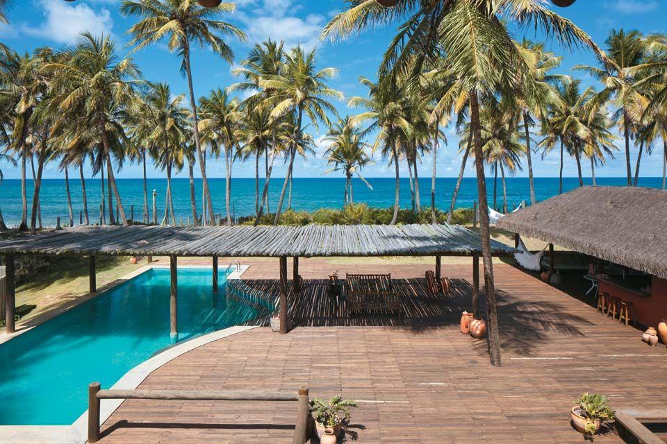 Casa de sonho na bahia tem piscina a beira mar bahia for Piscina bahia