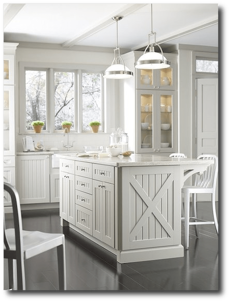 Farmhouse Kitchen Cabinets Decorating Ideas On A Budget ...