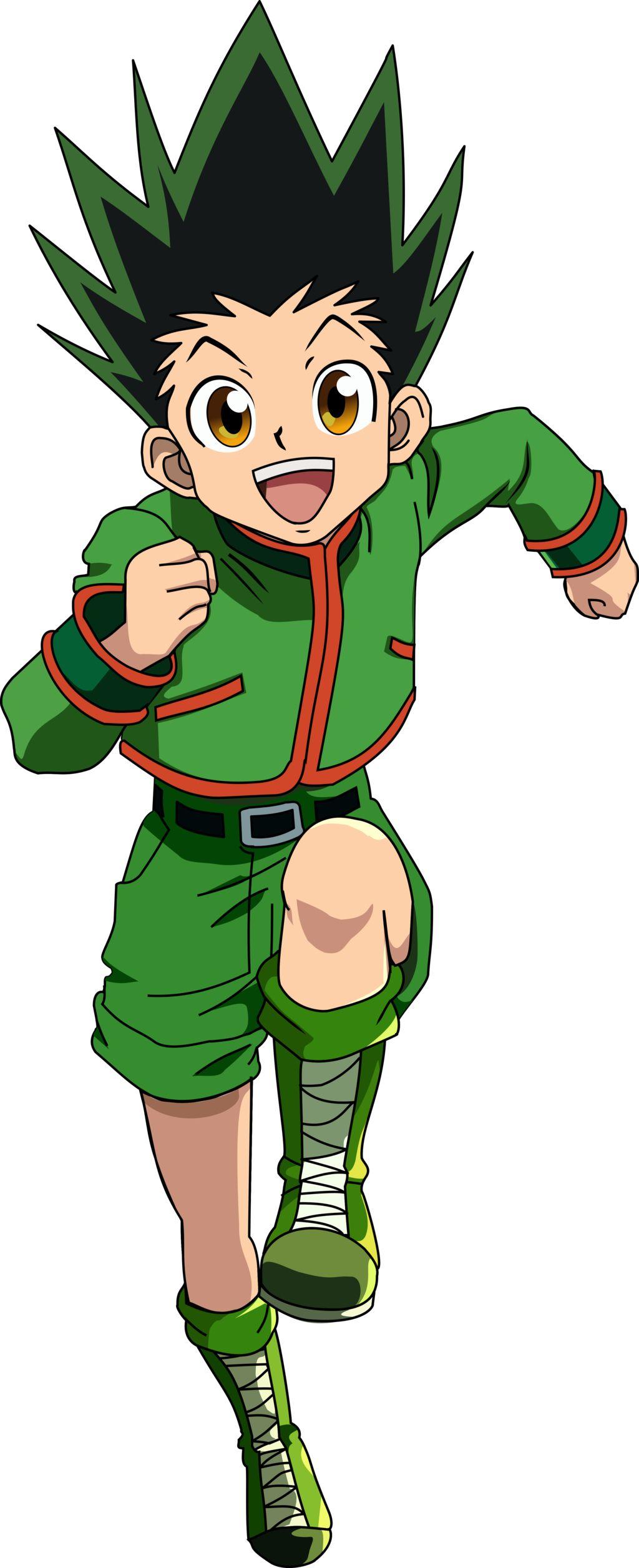 Gon Freecss Hunter X Hunter (With images) Hunter anime