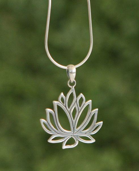 Sterling silver cut out style lotus pendant silver pendants sterling silver cut out style lotus pendant audiocablefo