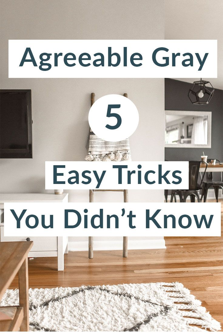 Agreeable Gray 5 Easy Tricks You Didn't Know