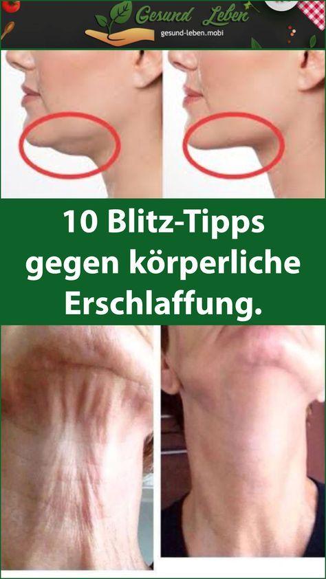 10 Blitz-Tipps gegen körperliche Erschlaffung. #tippsundtricks
