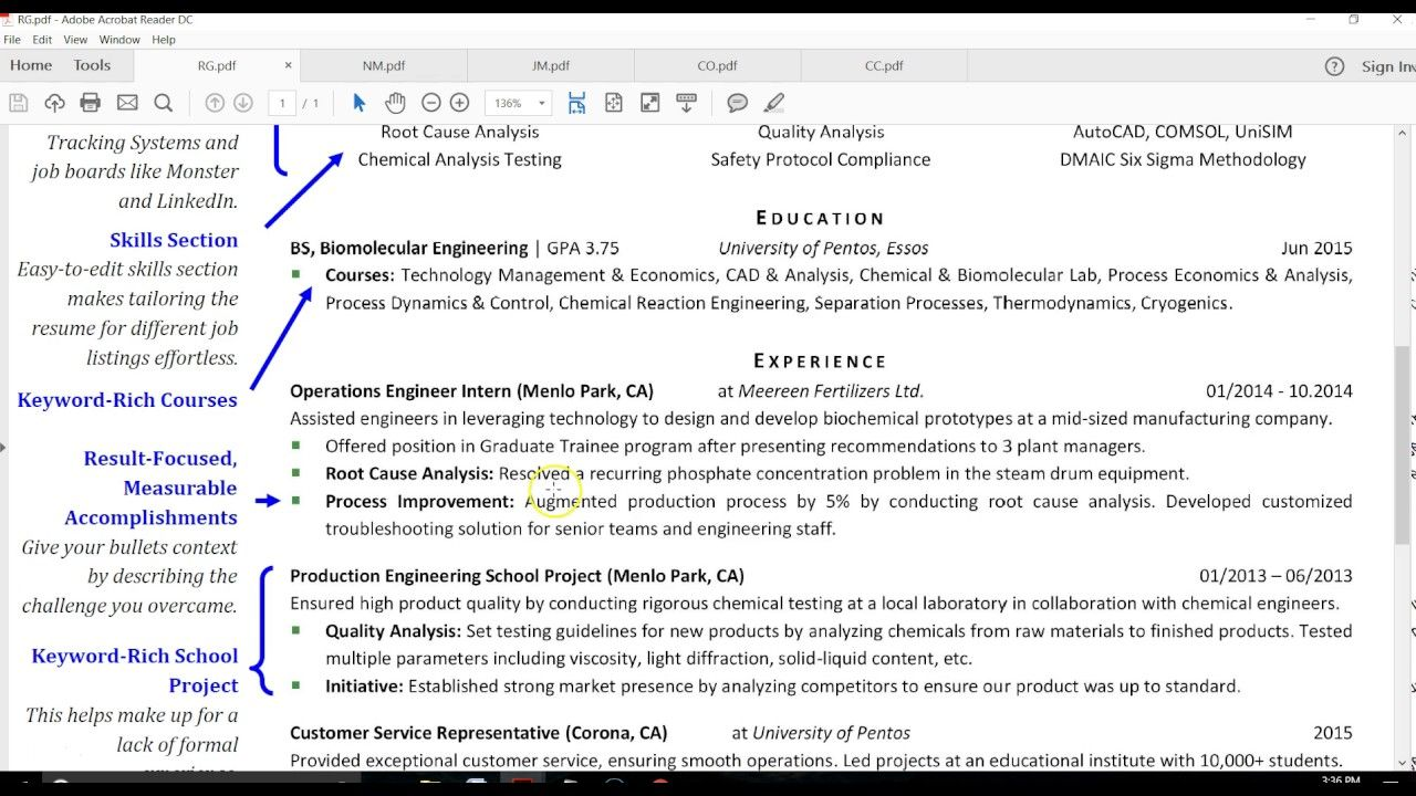 free resume writing tutorial careertuners download the template