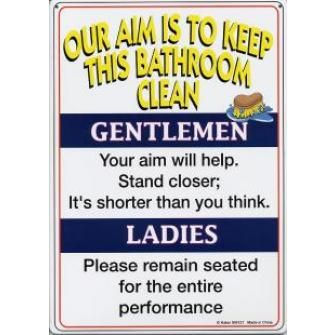 Bathroom Signs To Keep Clean signs for no cell phone use | home / keep this bathroom clean 8x11