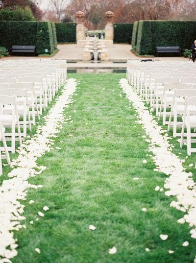 Elegant Dallas Arboretum Botanical Garden Wedding #botanicgarden