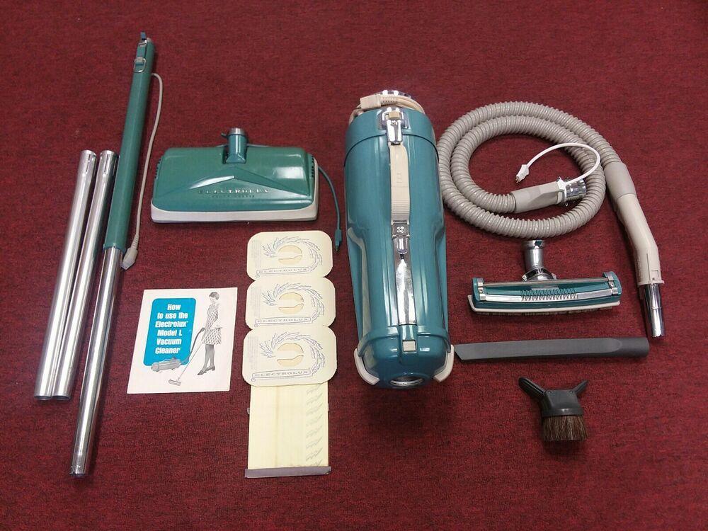 Electrolux vintage model l canister vacuum cleaner